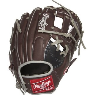 "Rawlings Heart of the Hide 11.75"" Infield Baseball Glove (RHT/ Chocolate Brown)"