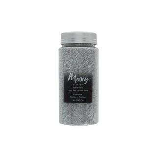 AMC Moxy Glitter ExFine 5oz Platinum