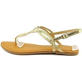 American Rag Keira Braided Thong Flat Sandals US