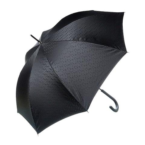 Burberry Monogram Print Folding Umbrella - NoSize