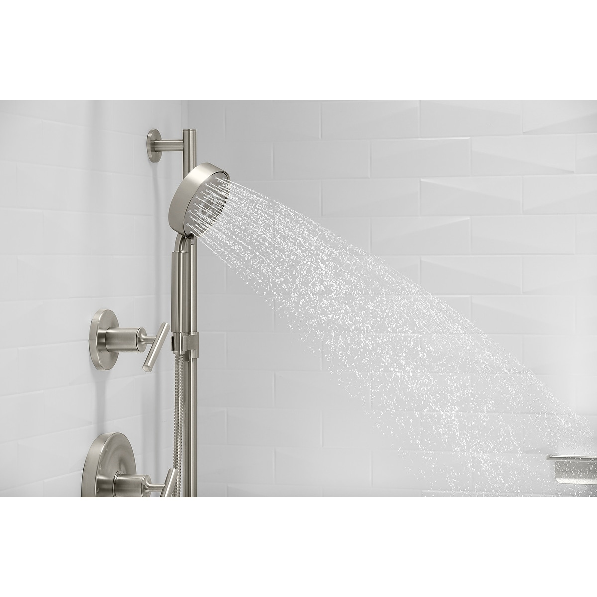 Kohler K 22178 G Purist 1 75 Gpm Multi Function Hand Shower