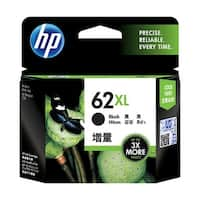 HP 62XL High Yield Black Original Ink Cartridge (C2P05AN) (Single Pack)