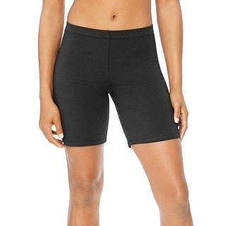 Hanes Women's Stretch Jersey Bike Shorts
