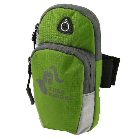 FreeKnight Authorized Sports Cycling Traveling Nylon Arm Bag Phone Pack Green