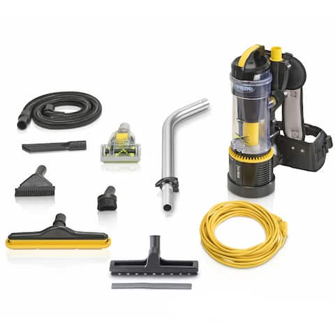 2019 Prolux 2.0 Pro Commercial Bagless Backpack Vacuum with 1 1/2 inch Tool Kit