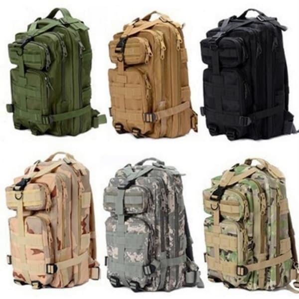 1000D Nylon 8 Colors 30L Waterproof Outdoor Military Rucksacks Tactical Backpack Sports Camping Hiking Trekking Fishing. Opens flyout.