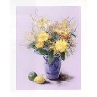''Blumenstrauss IV'' by Mimi Selzner Floral Art Print (19.75 x 15.75 in.)