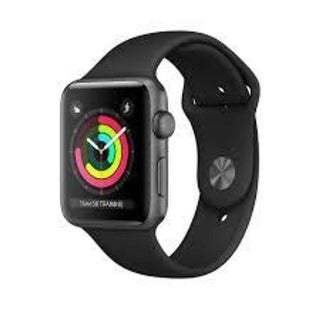 Apple Watch Series 3 (GPS), 42mm Space Gray Aluminum Case with Black Sport Band