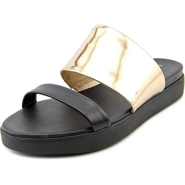 Via Spiga Womens carita Open Toe Casual Slide Sandals