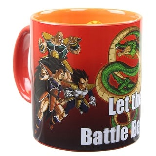 Dragon Ball Z 20oz Coffee Mug with Inside Artwork - Multi