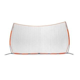 "Bownet BowBarrier Portable 21' 6"" W x 11' 6"" H Sports Net - Orange"