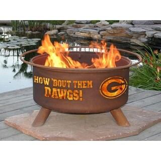 Patina Products F404 University of Georgia Fire Pit - bronze
