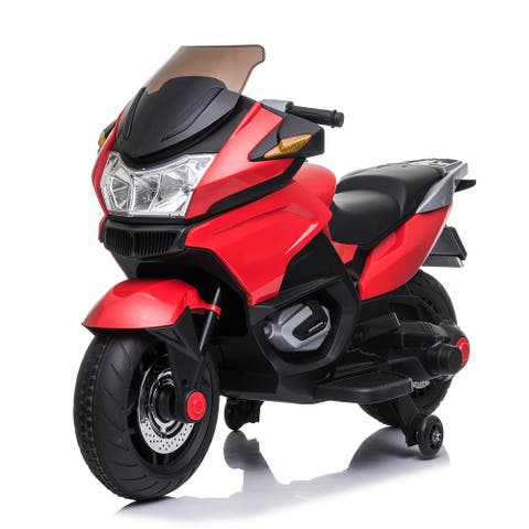 12V Red Motorcycle
