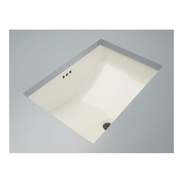 "Mirabelle MIRU1812 18-11/16"" Porcelain Undermount Bathroom Sink with Overflow"