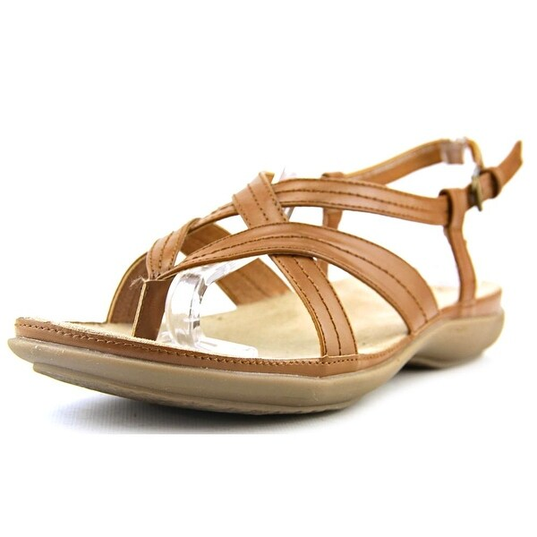 Kim Rogers Hayley Women Open Toe Synthetic Brown Sandals