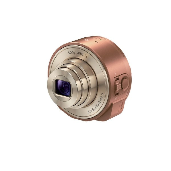Sony DSC-QX10 Digital Camera Module for Smartphones (Bronze) (International Model)