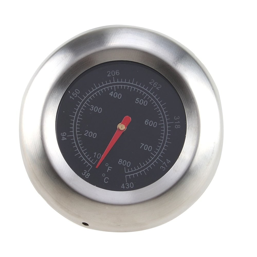 NEW Stainless Steel Thermometer Barbecue BBQ Smoker Grill Temperature Gauge 60