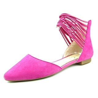 Jessica Simpson Zelio Women Pointed Toe Synthetic Pink Flats