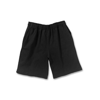 Hanes Boy's Jersey Short - Size - S - Color - Black