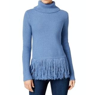 MICHAEL Michael Kors NEW Blue Womens Size Small S Turtleneck Sweater