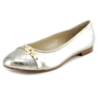 Marc Fisher Jodita Round Toe Leather Flats
