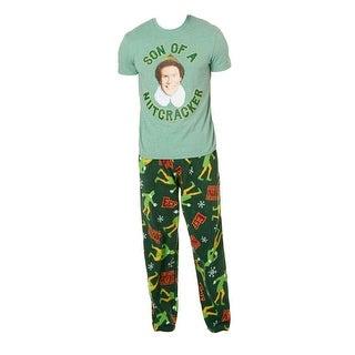 Elf Son of a Nutcracker Boxed Pajama Set