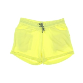 Zara Trafaluc Womens French Terry Rolled Hem Casual Shorts - M