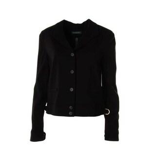 Lauren Ralph Lauren Womens Ponte Long Sleeves Blazer - 10