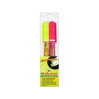 Y&C Hi-Glider Highlighter Yellow/Pink 2pc