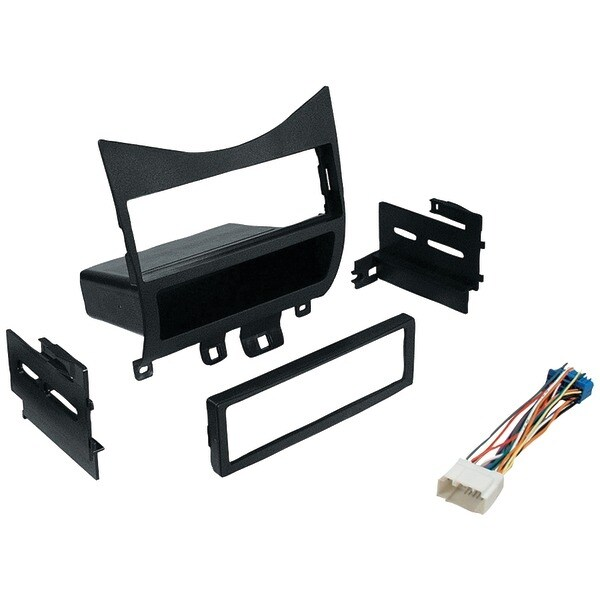 In-Dash Installation Kit (Honda(R) Accord 2003 & Up With Harness, Radio Relocation To Factory Pocket Single-Din)