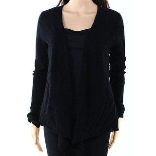 Philosophy NEW Black Women's Size Small S Cardigan Cashmere Sweater
