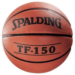 """Spalding TF-150 Deluxe Rubber Basketball - Size 7 (29.5"""")"""