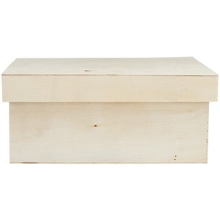 Wood Craft Keepsake Box Set 3/Pkg-Rectangle