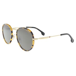 Carrera CARRERA 151/S 0RHL-IR Gold Black Oval Sunglasses - 51-21-145