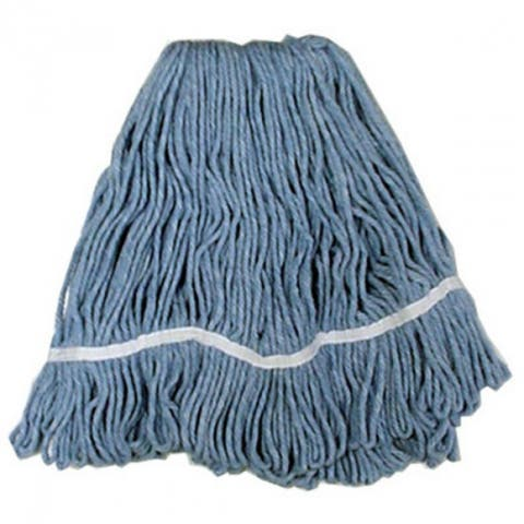 Quickie 0341GM Looped End Rayon Mop Head for Janitor Mop Handle, 16 Oz