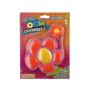 Kole Imports KK994-36 Flower Shape Room Doorbell - Pack of 36