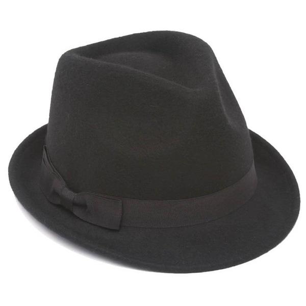 Winter Wool Trilby Fedora Hat - Medium/Large