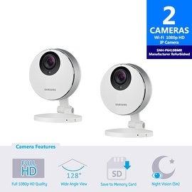 2 pack of SNH-P6410BMR Samsung Smartcam Full HD Wifi 1080p IP Camera (Refurbished)