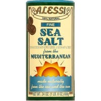 Alessi Mediterranean Sea Salt - Fine - Case of 6 - 24 oz.