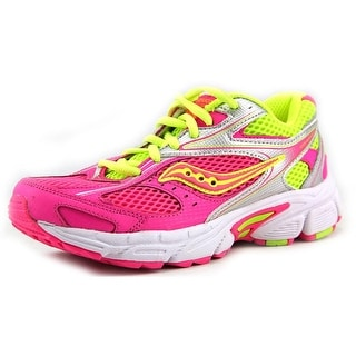 Saucony Cohesion 8 LTT EW Round Toe Synthetic Running Shoe
