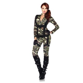 Sexy Paratrooper Womens Army Halloween Costume