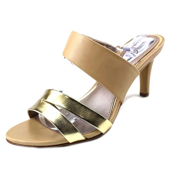 Alfani Dextine Women Open Toe Synthetic Nude Sandals