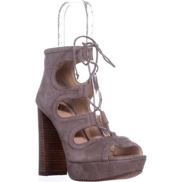 Vince Camuto Kamaye Platform Dress Sandals, Stone Taupe - 9.5 us / 39.5 eu