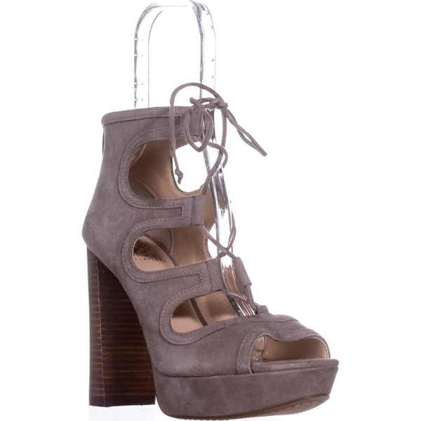Shop Vince Camuto Kamaye Platform Dress Sandals, Stone Taupe 39.5 - 9.5 us / 39.5 Taupe eu - - 21532730 79b832