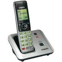 Vtech Cs6619 Dect 6.0 Expandable Cordless Phone W/ Caller Id/Call Waiting Silver