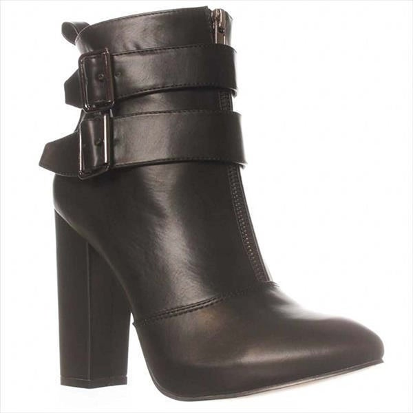 JFab Talur Ankle Boots - Black - 6.5