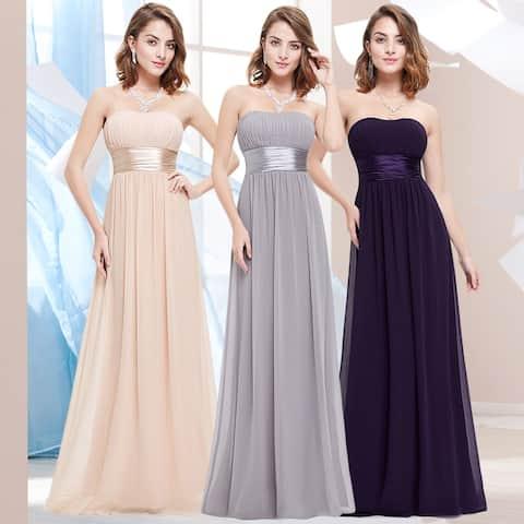 Ever-Pretty Women Strapless Evening Bridesmaid Dresses 09955