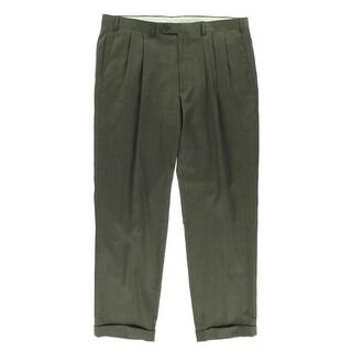 Lauren Ralph Lauren Mens Wool Houndstooth Dress Pants - 36/30