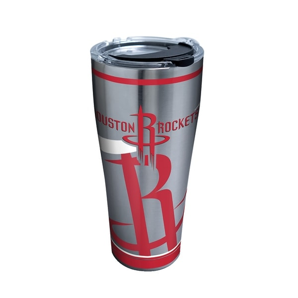 innovative design 15319 ba6af NBA Houston Rockets Paint 30 oz Stainless Steel Tumbler with lid