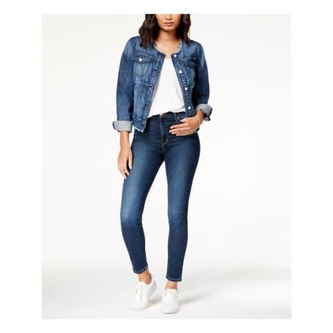 JOE'S Womens Blue Skinny Jeans Size 25 Waist